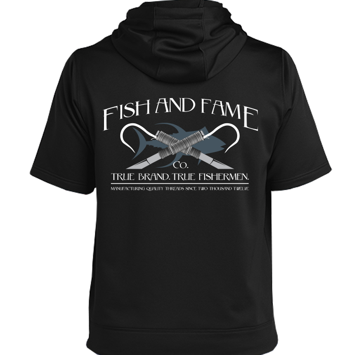 Image of Classic Triblend Fleece SS Pullover (black)
