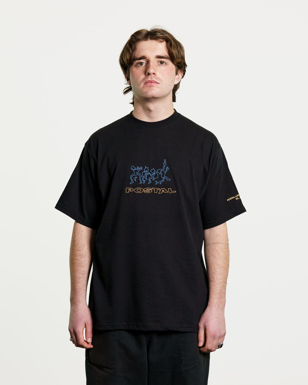 Postal x Jasper James Vol.2 'Dannsa' Dancefloor Tee Black