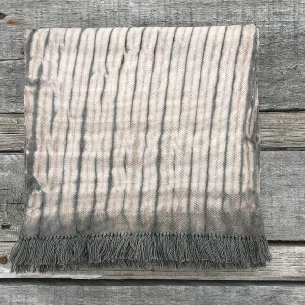 Image of Woven Shibori - Warm Grey