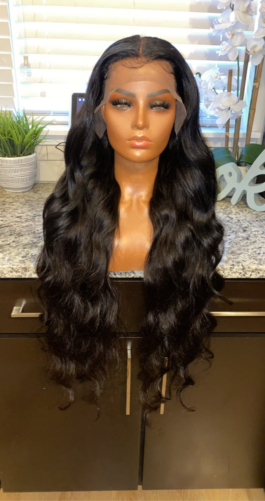 "Image of Brazilian Body Wave 34"" Custom HD Lace Frontal Wig! (SUPER FULL)"