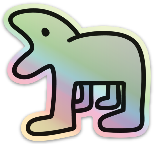 Image of Holographic Harper Sticker