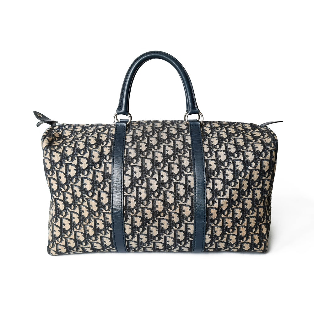 Image of Christian Dior Monogram Boston Bag
