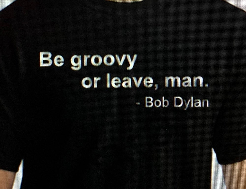 Image of Be Groovy - Bob Dylan