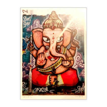 Image of Ganapati Giclee Print - A3