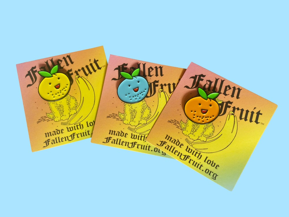 Image of Fallen Fruit Enamel Pin