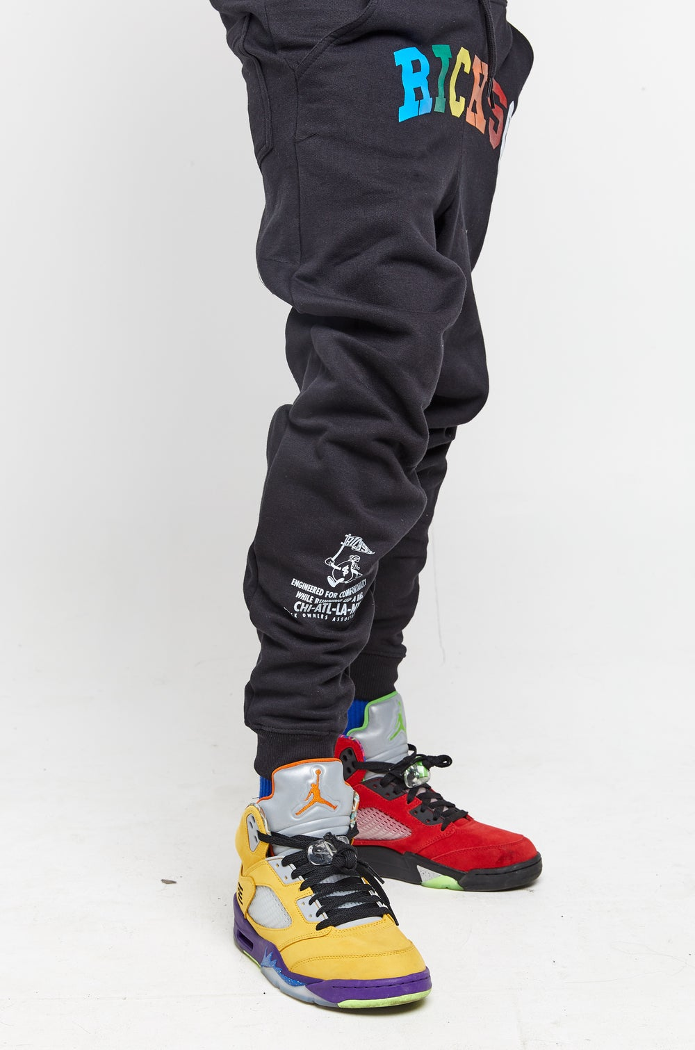 Image of RICHSO Multi Color Jogging Suit