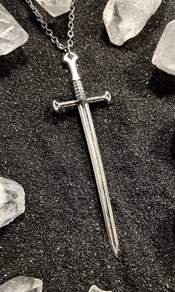 Image of LONG SWORD NECKLACE