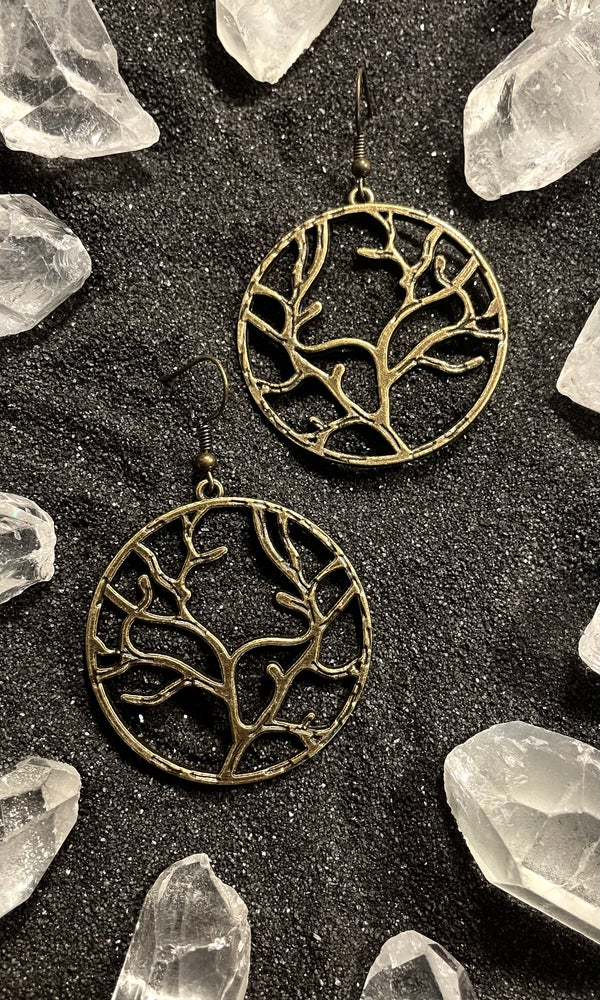 Image of YGGDRASIL EARRINGS