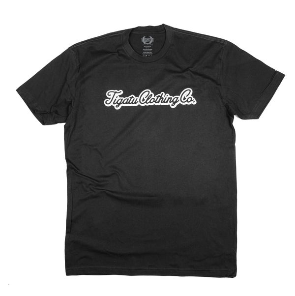 "Image of ""Simple"" Tigatu Tee - Black"