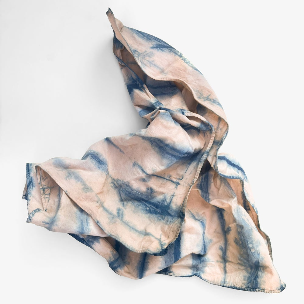 Image of Indigo & Avocado Dyed Bandana