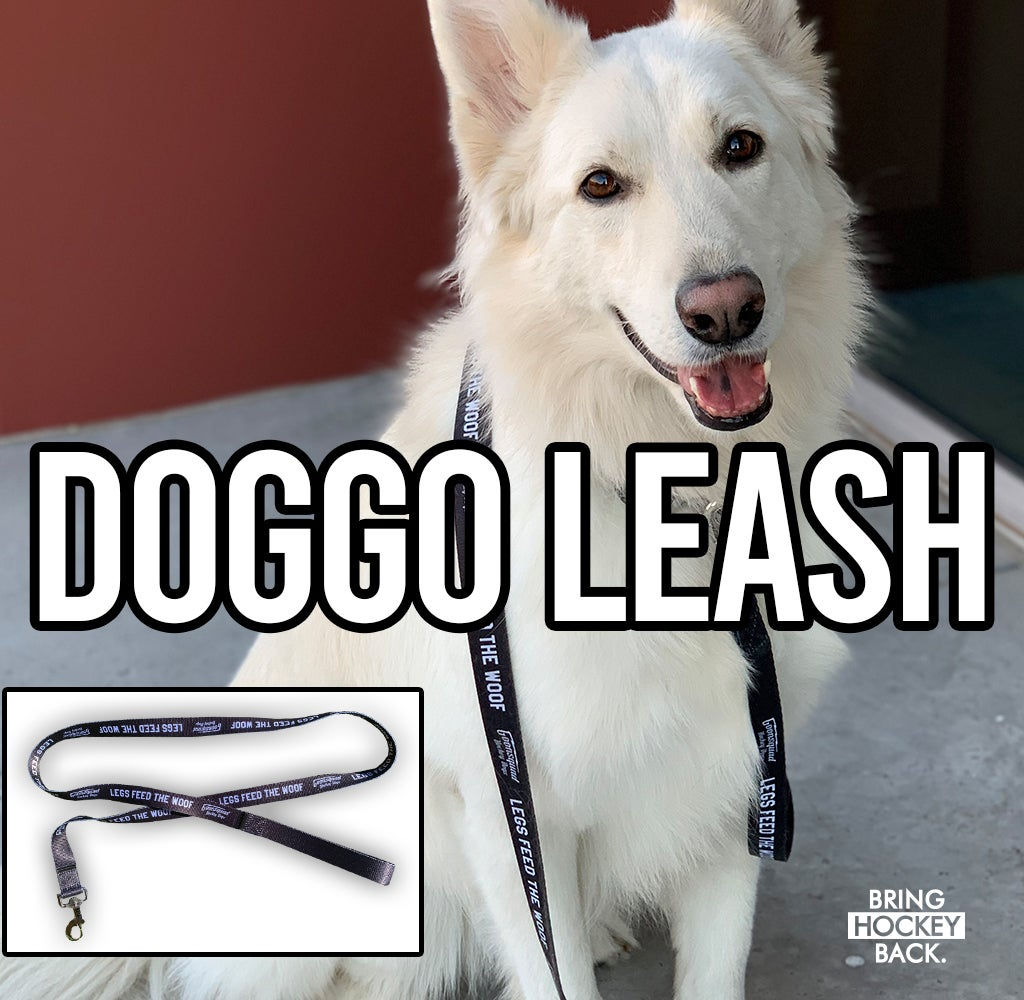 Legs Feed the WOOF doggo leash [Free shipping]