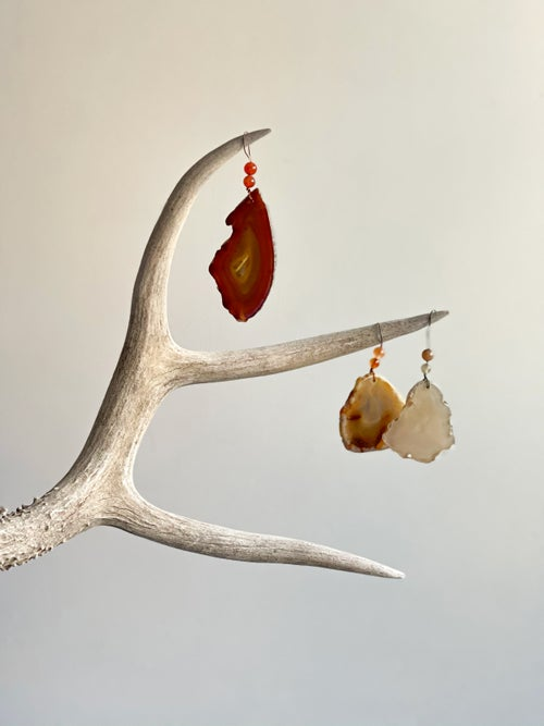 Image of Agate Ornaments