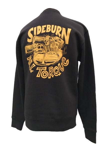 Image of All Torque Crewneck Sweat - BLACK