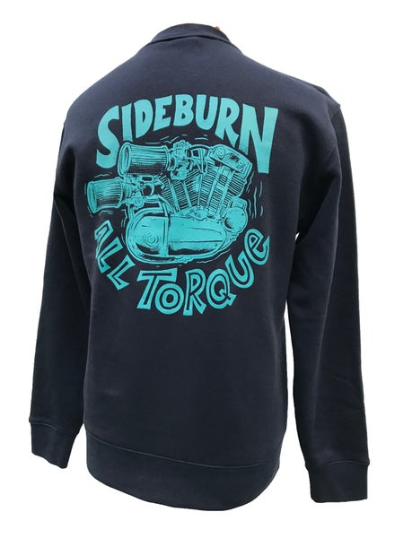 Image of All Torque Crewneck Sweat - Navy Blue