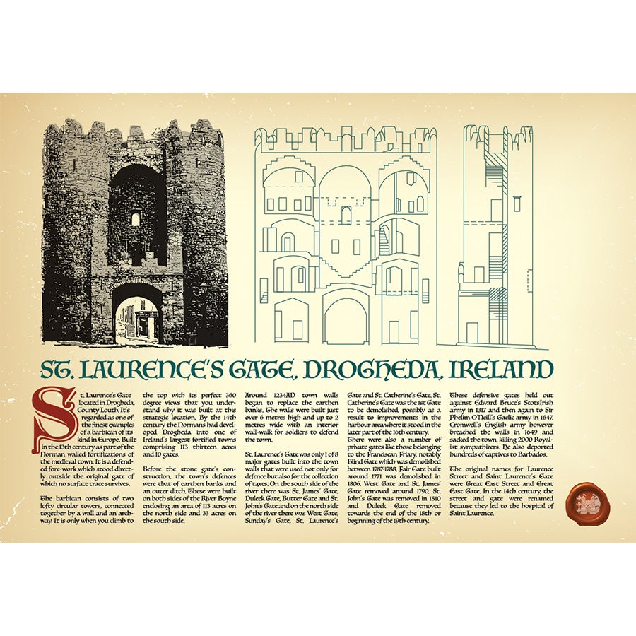St Laurence's Gate - A History