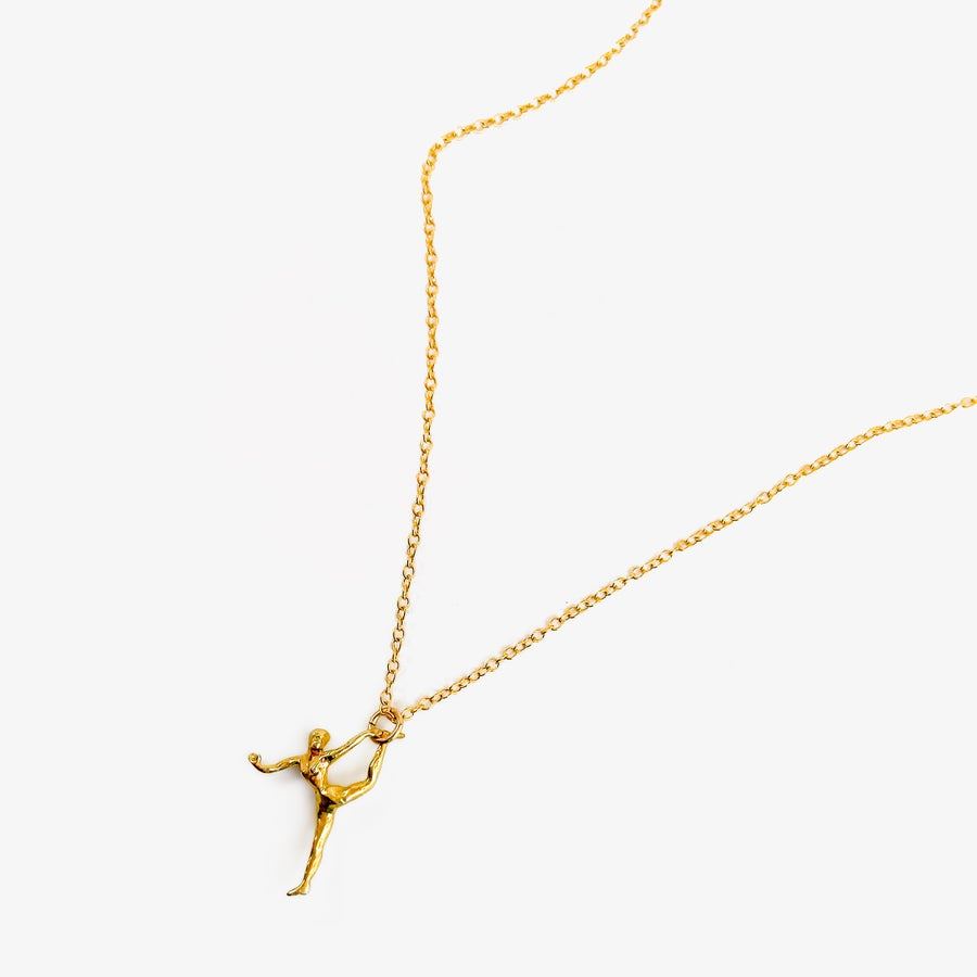 Image of Hang In There Pendant Necklace