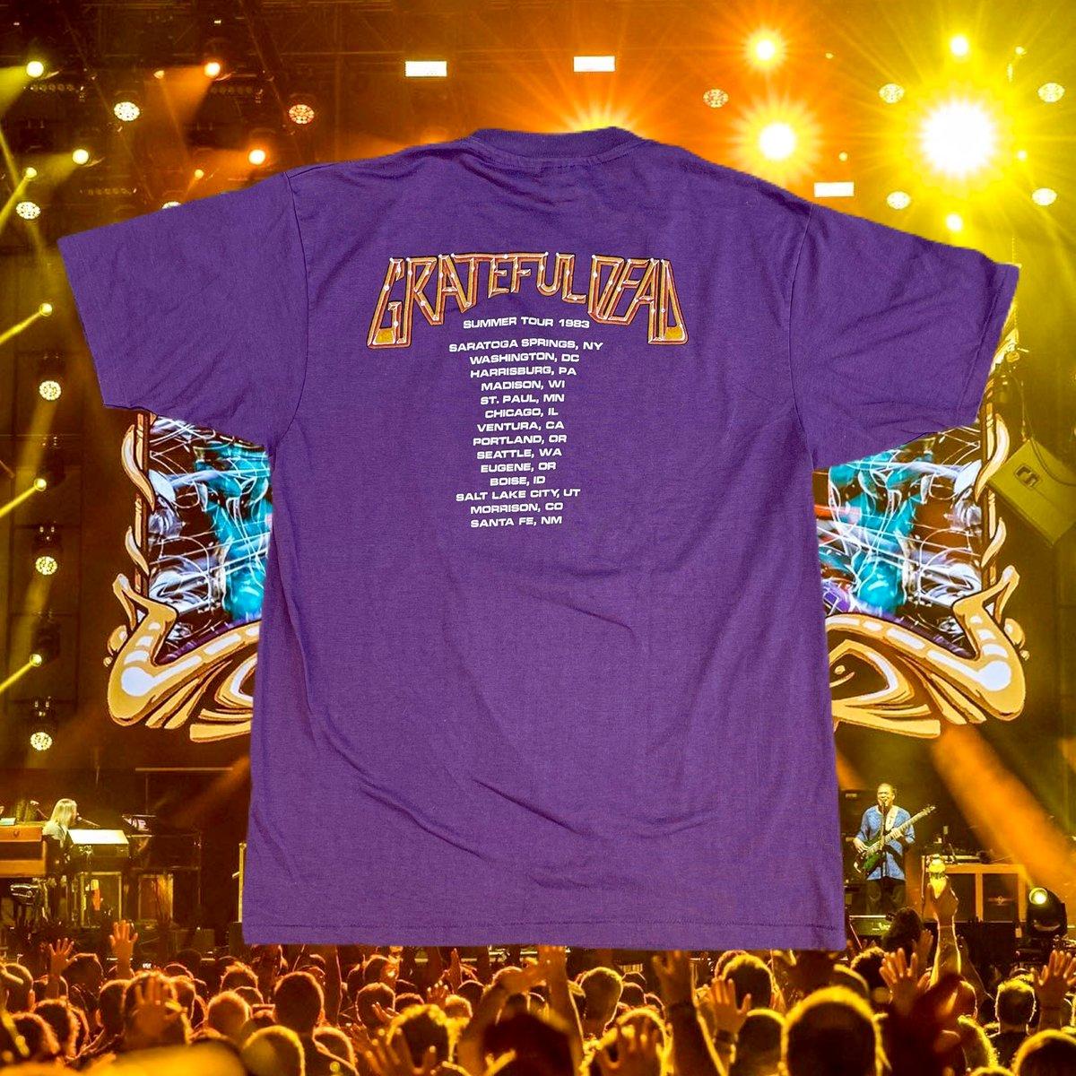 Original Vintage Grateful Dead Summer Tour 1983 Tee! XL