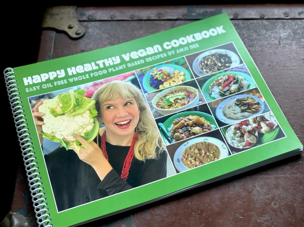 Image of Happy Healthy Vegan Cookbook [Print Book]