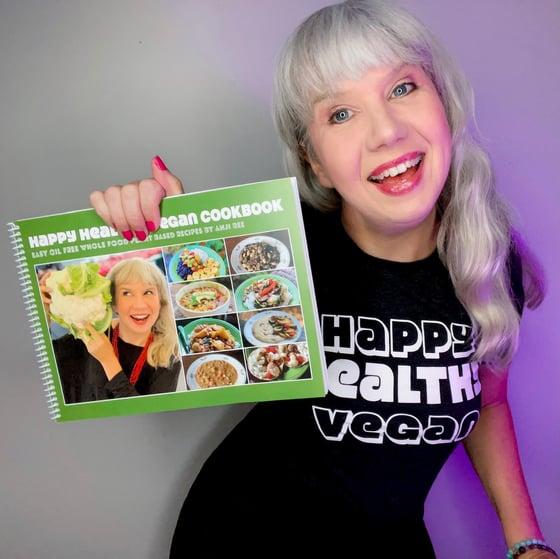 Image of Happy Healthy Vegan Cookbook [Print Book]