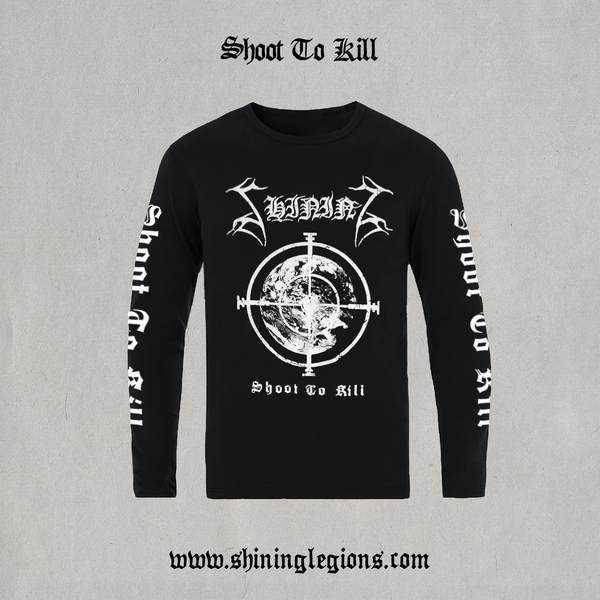 "Image of PRE-ORDER Shining ""Shoot To Kill"" Longsleeve"