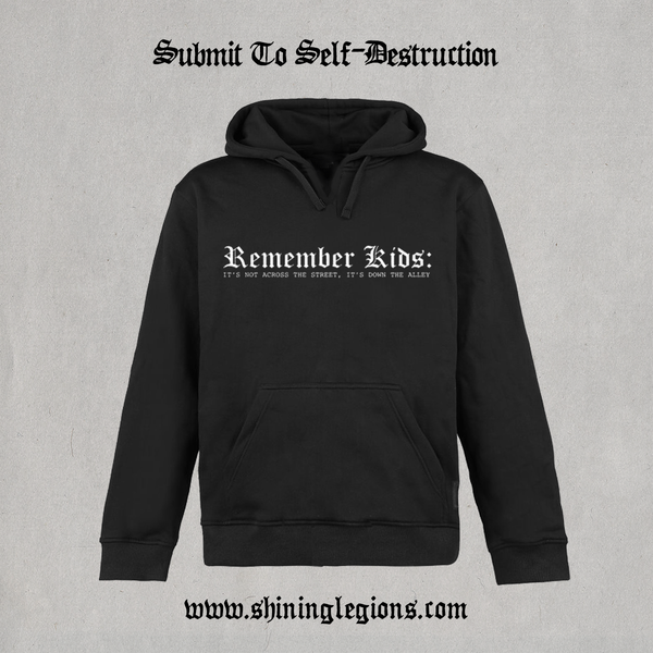 "Image of PRE-ORDER Shining ""Submit To Self-Destruction"" Hoodie"