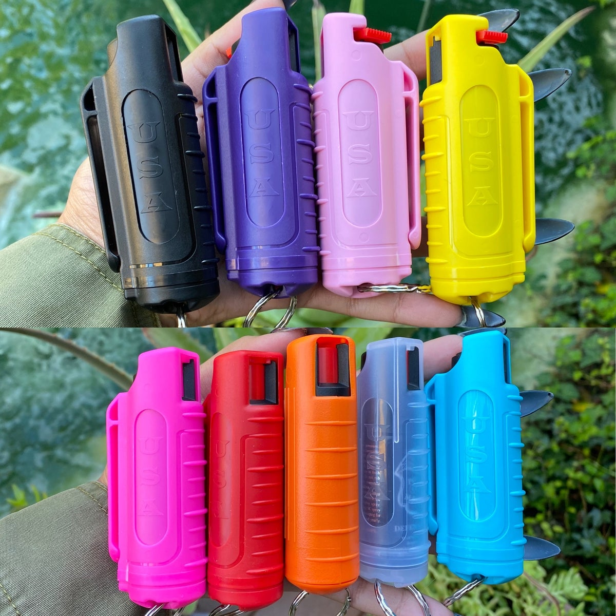 Image of Pepper Spray Keychains
