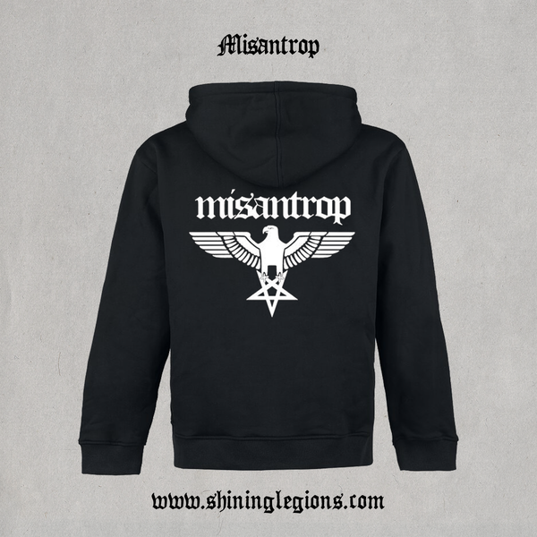 "Image of Shining ""Misantrop"" Zip-hood"