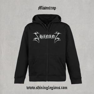 "Image of Shining ""Misantrop"" Zip-hood"