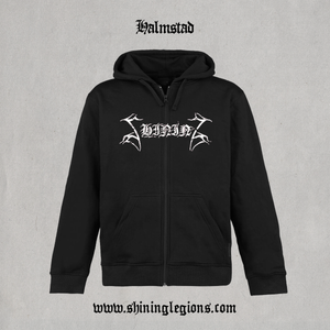 "Image of Shining ""Halmstad"" Zip-hood"