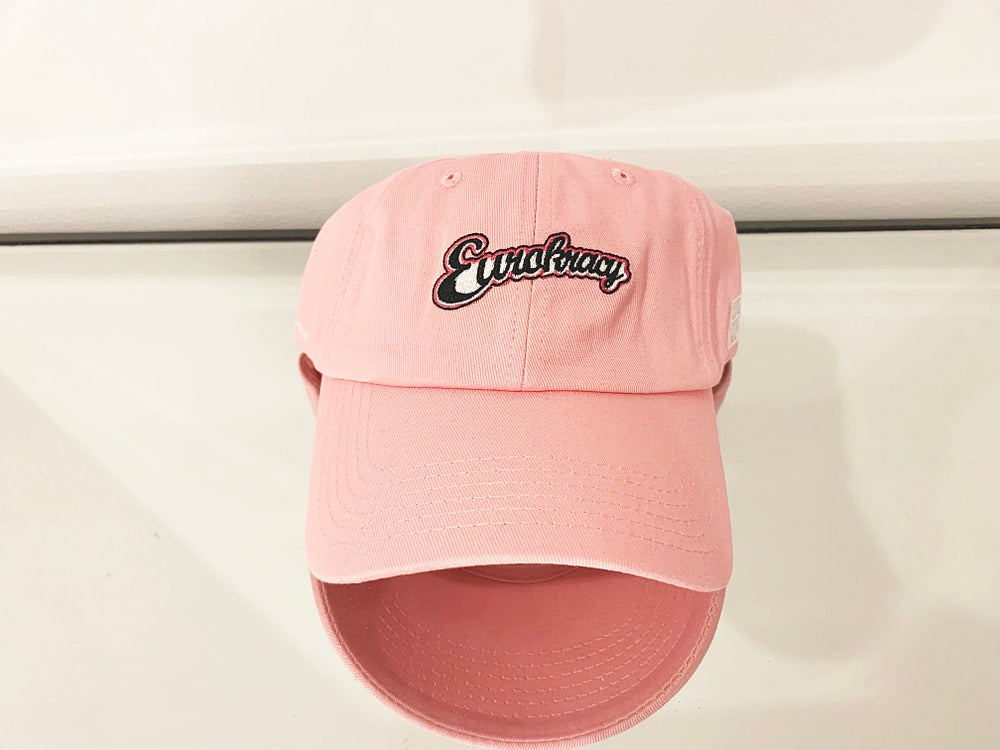 Eurokracy Dad Hat - Pink
