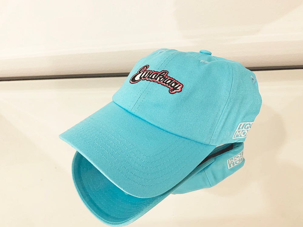 Eurokracy Dad Hat - Blue