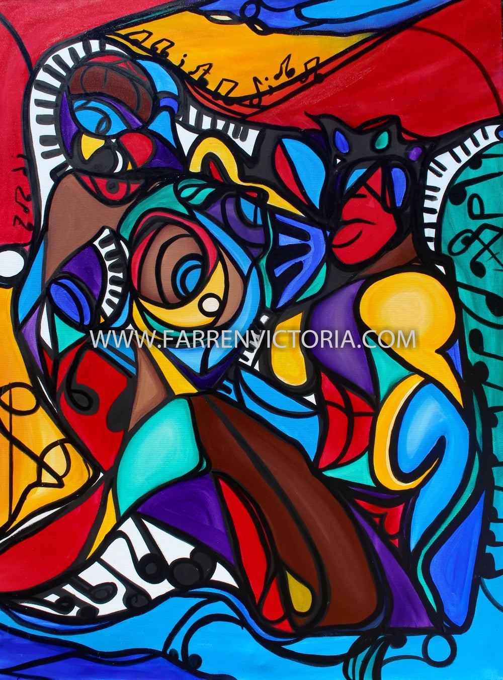 Image of Love Song Original Painting