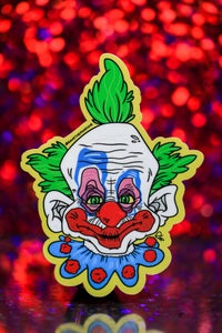 "Image of Killer Klowns 4"" Stickers"