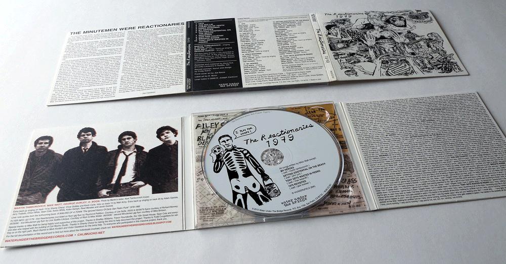 THE REACTIONARIES - 1979 → cd