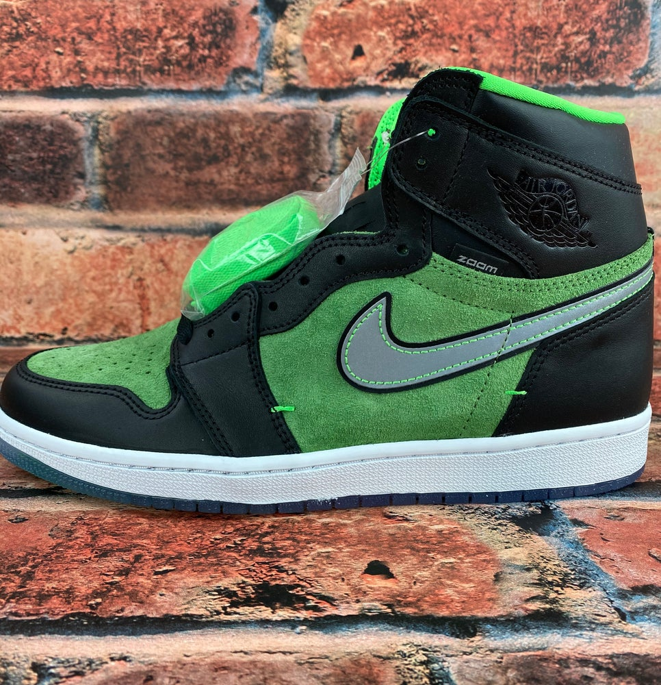 "Image of Jordan 1 High Zoom ""Zen Green"""