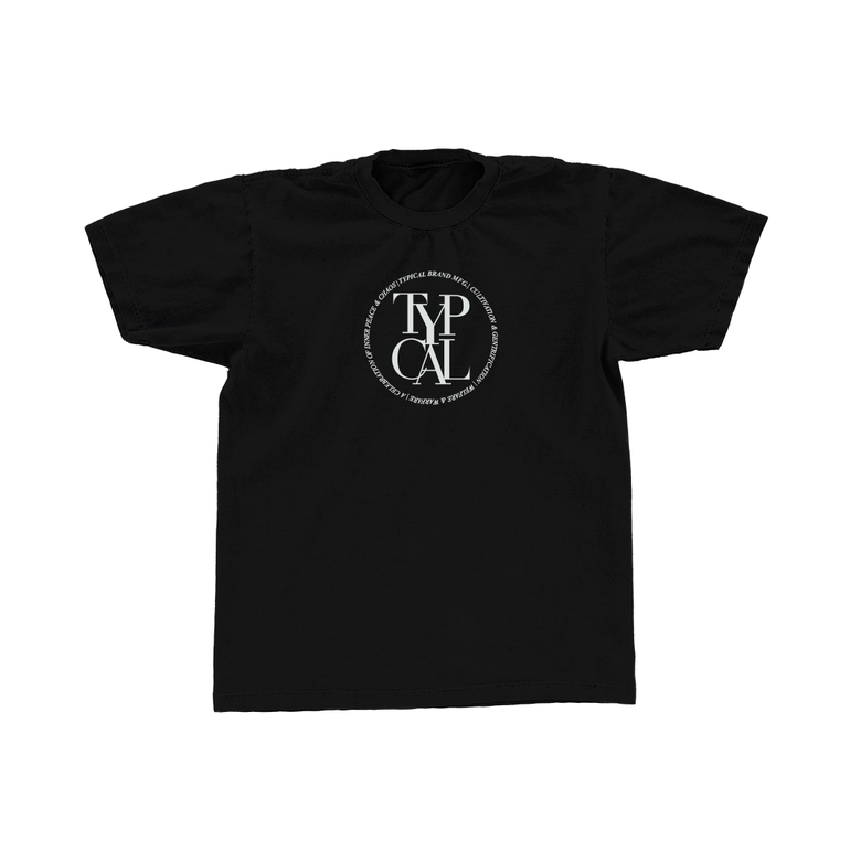 Image of DAP Tee (Black)