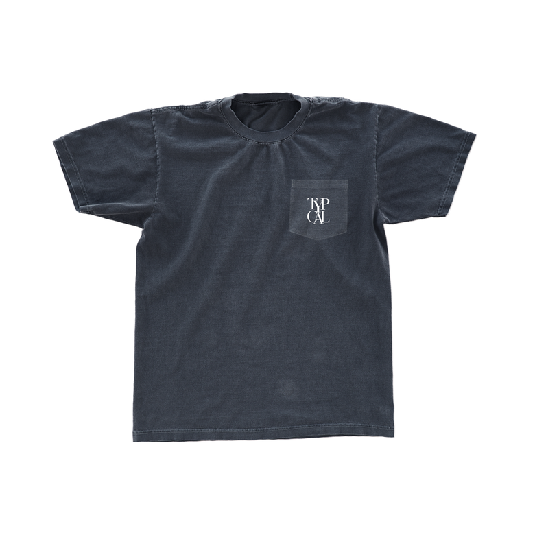 Image of DAP Pocket Tee (Denim Blue)
