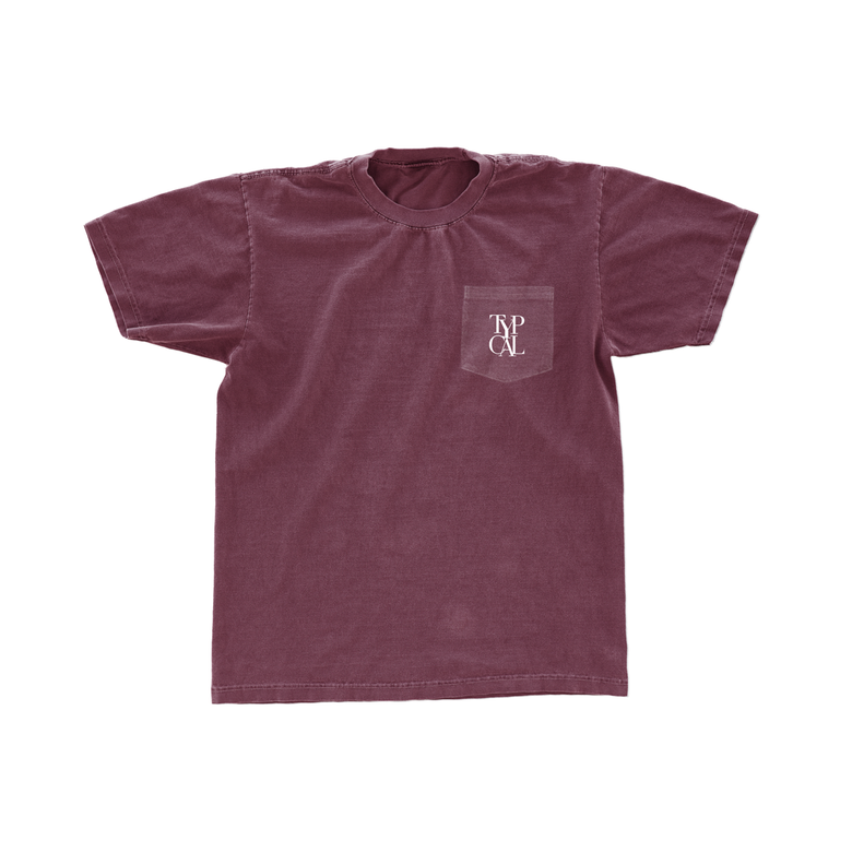 Image of DAP Pocket Tee (Berry)