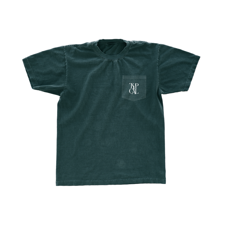 Image of Dap Pocket Tee (Blue Spruce)