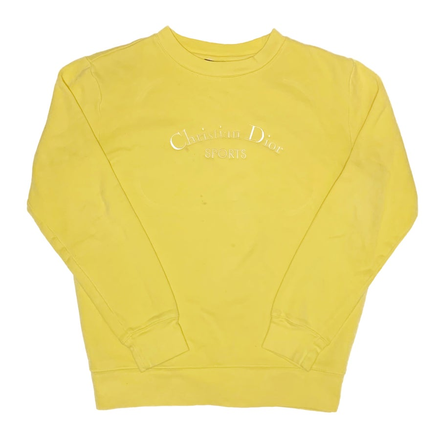 Image of CD Sweatshirt Yellow
