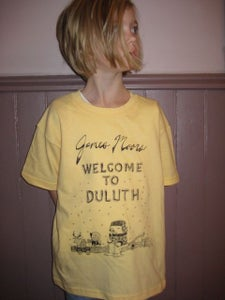 Image of Welcome To Duluth t-shirt (kids)