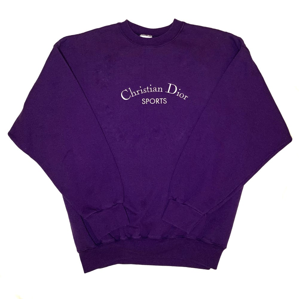 Image of CD Sweatshirt Purple