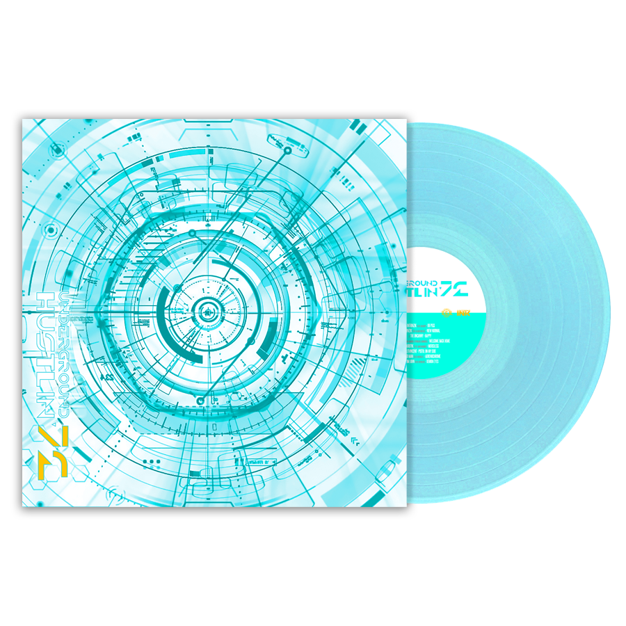 Image of UGH72 Limited Edition Electric Blue Vinyl LP [Pre-Order]