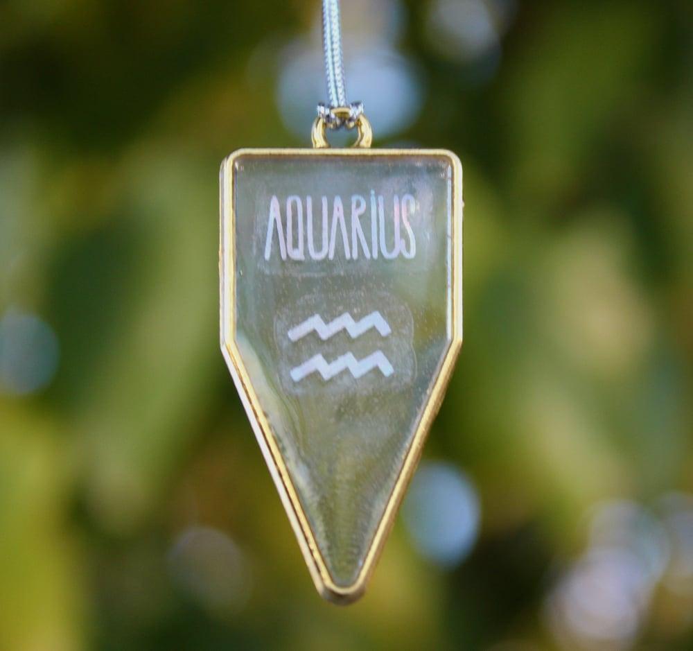 Image of Gold AQUARIUS Frame