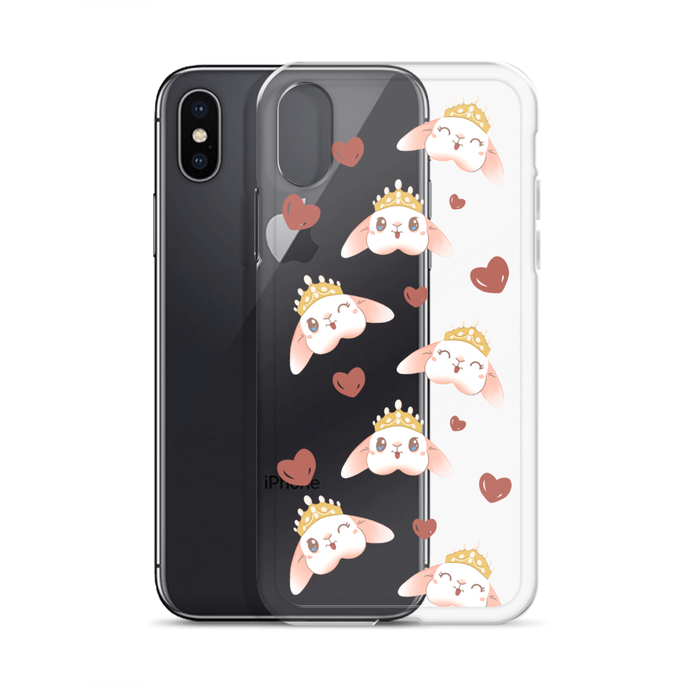 Image of *NEW* Blanco 'Bunny Crown' iPhone Case