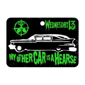 Image of MY OTHER CAR IS A HEARSE - AIR FRESHENER/STICKER PACK