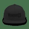 "WEDNESDAY 13 ""BLACK OPS"" SNAPBACK CAP"