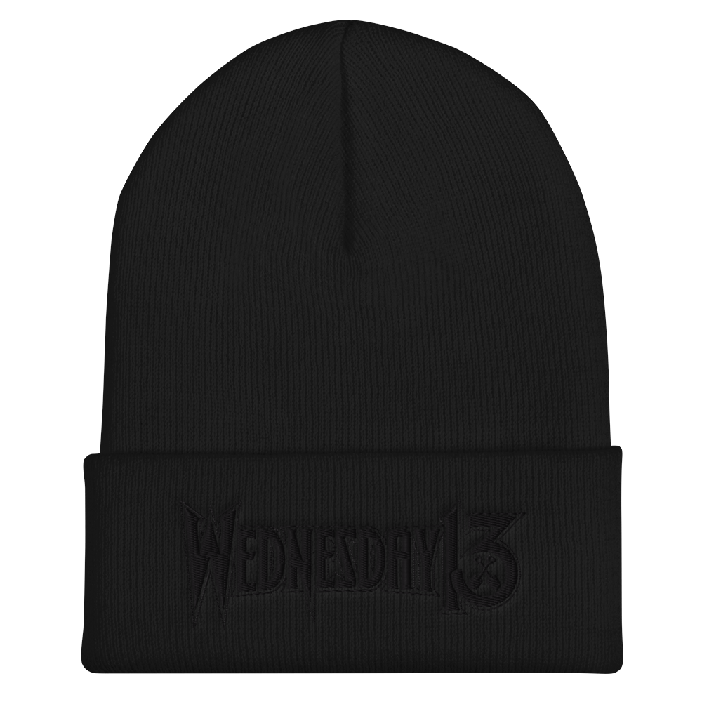 "Image of WEDNESDAY 13 ""BLACK OPS""  BEANIE"