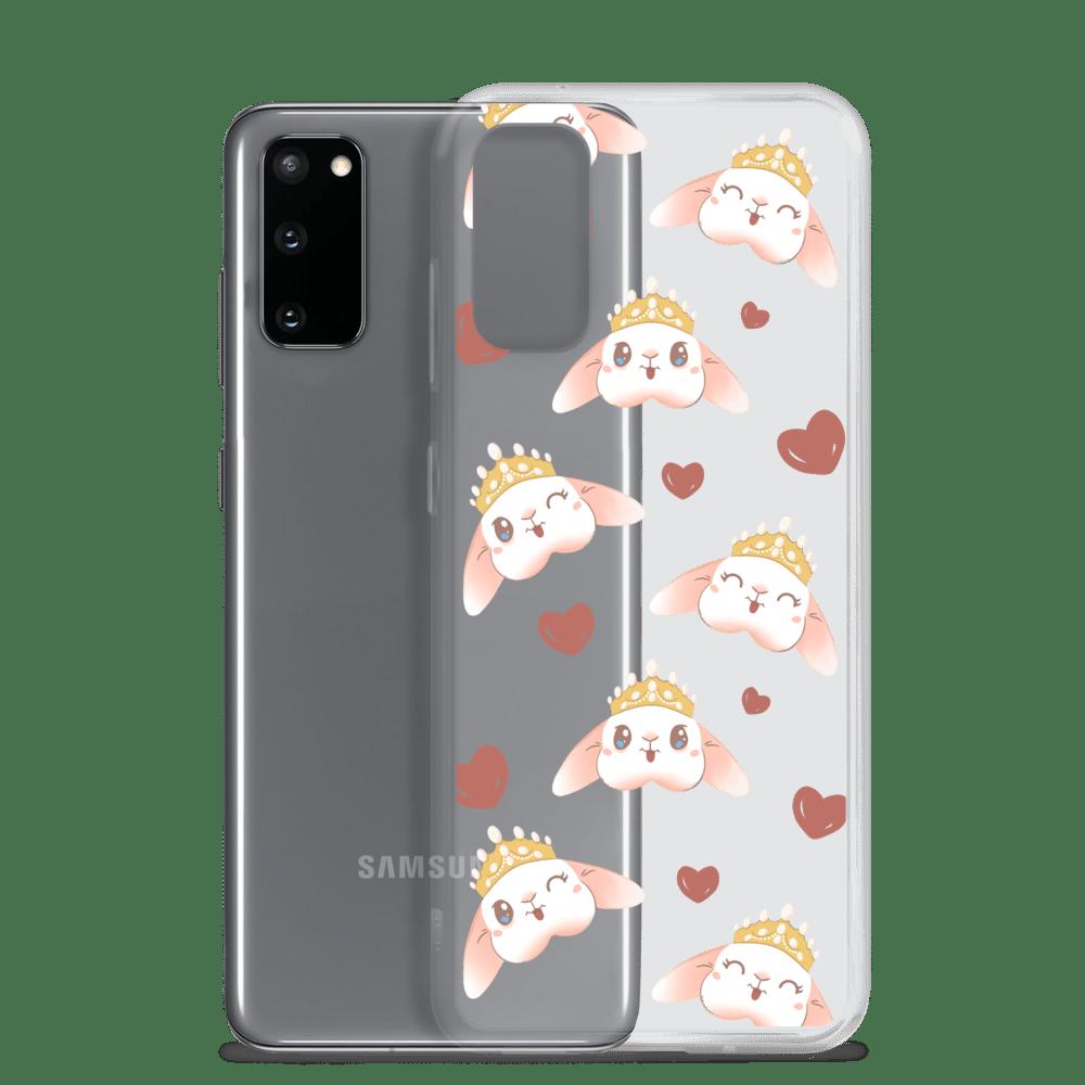 Image of *NEW* Blanco 'Bunny Crown' Samsung Case