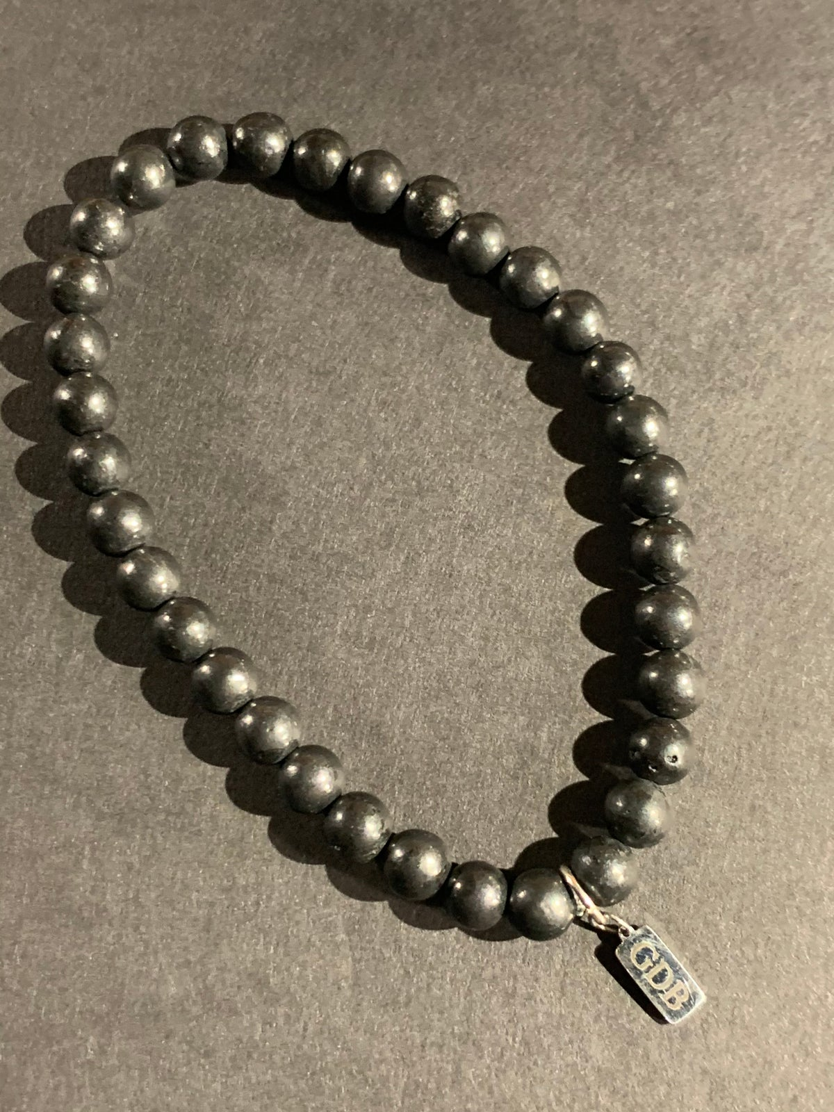 Signature Shungite Bracelet (6mm)